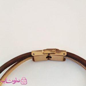 قیمت دستبند چرمی و استیل مردانه برند رولکس