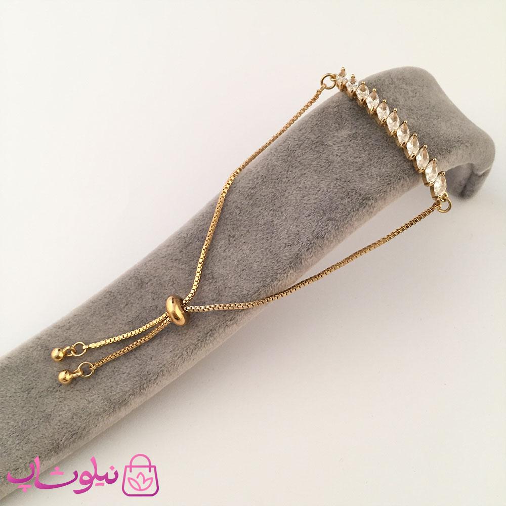 دستبند زنانه مارشالی طرح فشن