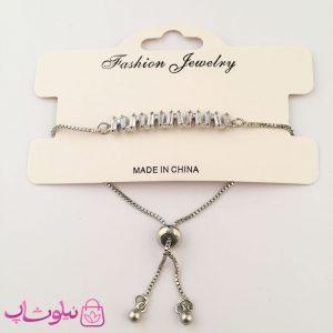 خرید دستبند زنانه مارشالی طرح فشن