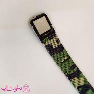قیمت دستبند پسرانه امپریو آرمانی طرح چریکی سبز