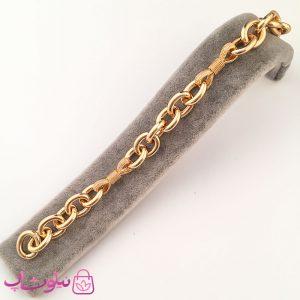 قیمت دستبند زنانه ژوپینگ طرح زنجیری پهن