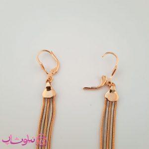 خرید گوشواره زنانه ریشه ای آویز بلند ژوپینگ