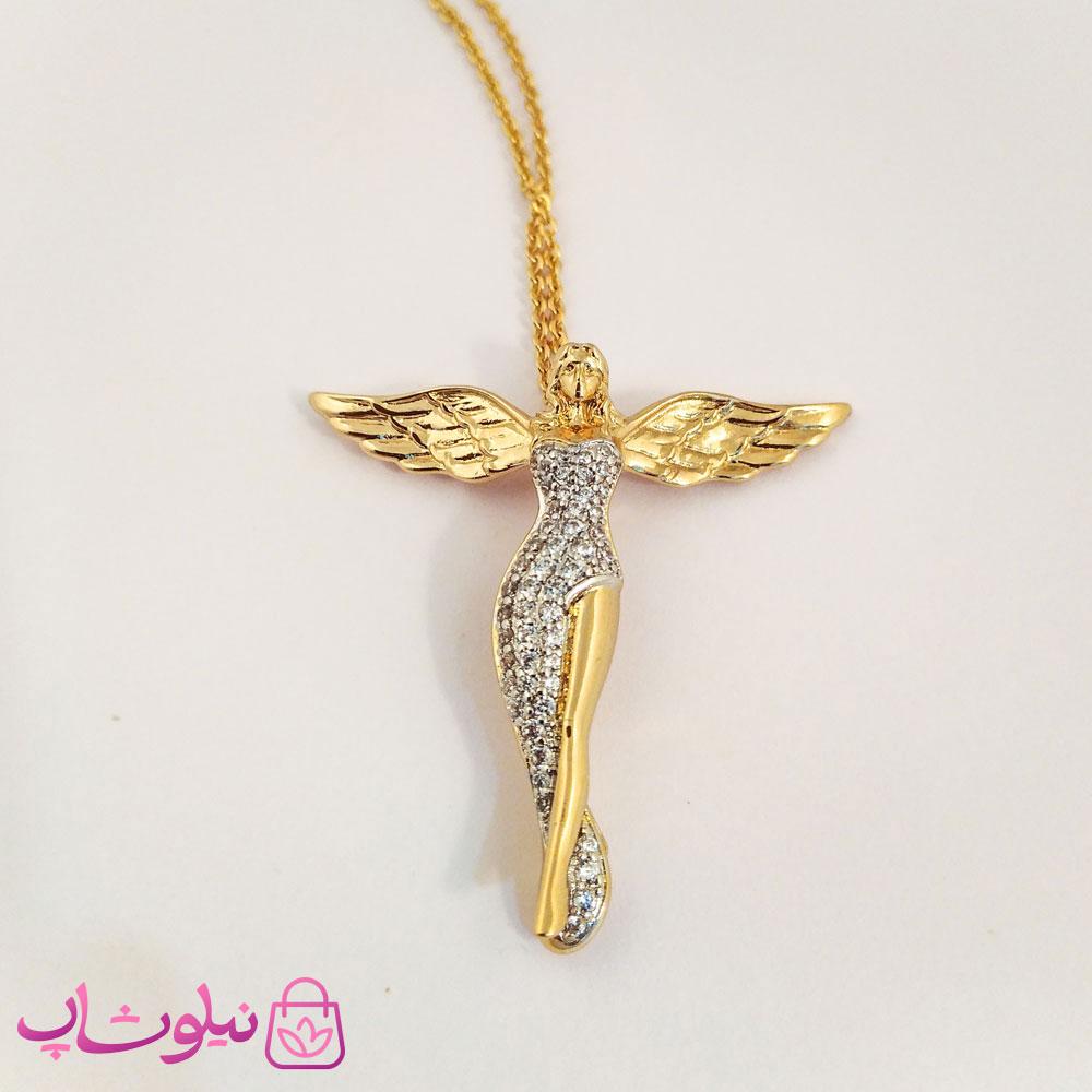 گردنبند زنانه ژوپینگ طرح فرشته